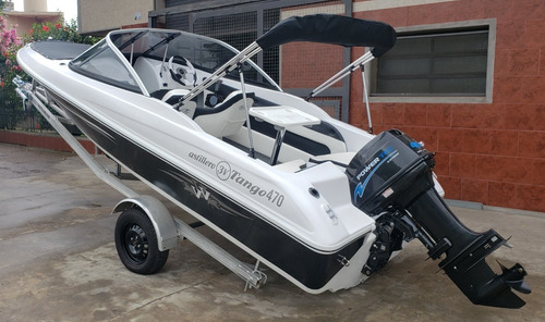 Lancha Open 3v Tango 470 Power Tec 40 Hp Nautica Milione 6