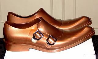 Sapato Melissa Marrou Metalico Tam: 37 Unisex