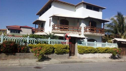 Imagem 1 de 29 de Casa Com 4 Dormitórios À Venda, 274 M² Por R$ 650.000,00 - Jardim Campomar - Rio Das Ostras/rj - Ca2405
