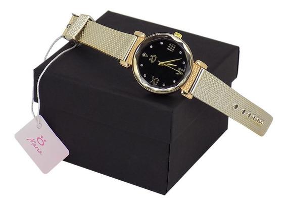 Relógio Orizom Borracha Maria + Caixa