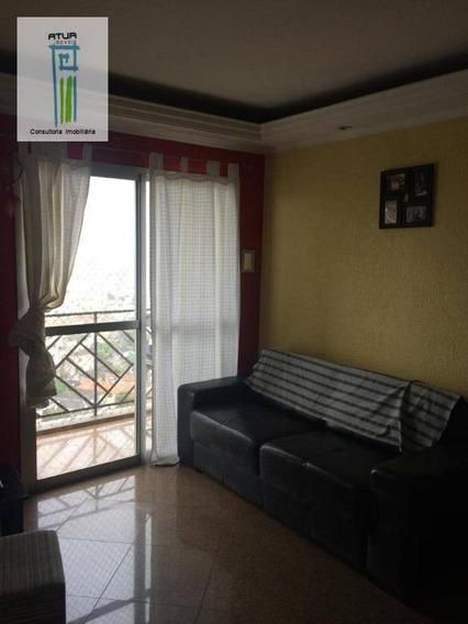 Apartamento Com 3 Dormitórios À Venda, 78 M² Por R$ 465.000 - Parque Mandaqui - São Paulo/sp - Ap0586