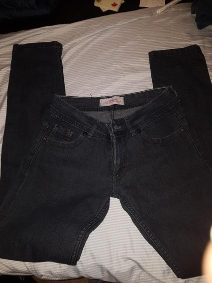 Jeans Mujer Chupin Pantalones, Jeans y Joggings Usado en