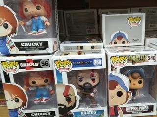 Funko Pop Bootleg Chucky Kratos Gravity Falls God Of War