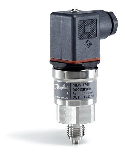 060g6103 Transmissor De Pressão Danfoss Mbs1700 0 A 25bar