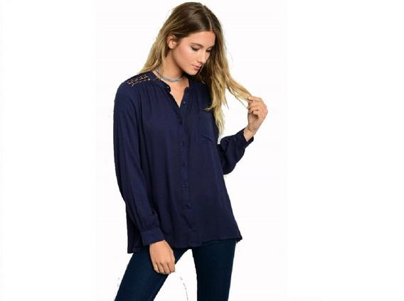 Blusas Dama Camisa Importadas Varios Modelos 10255 6 Cuotas