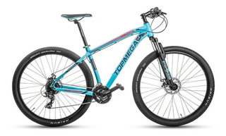 Bicicleta Mountain Bike Alum. Top Mega Thor R29 +linga + Led