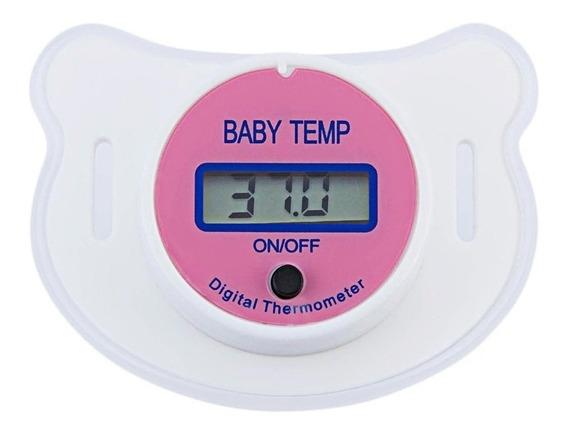 Chupeta Termometro Digital Pronta Entrega Rosa Ou Azul