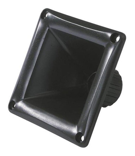 Corneta Extra Corta 1 Pulgada Cuadrada Negra Para Driver