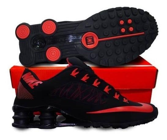 Tenis Nike Shox Superfly Preto E Vermelho Nº43 Original!!!