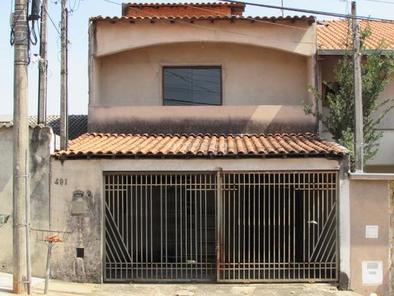 Casa À Venda, 4 Quartos, 2 Vagas, Parque Residencial Jaguari - Americana/sp - 10666