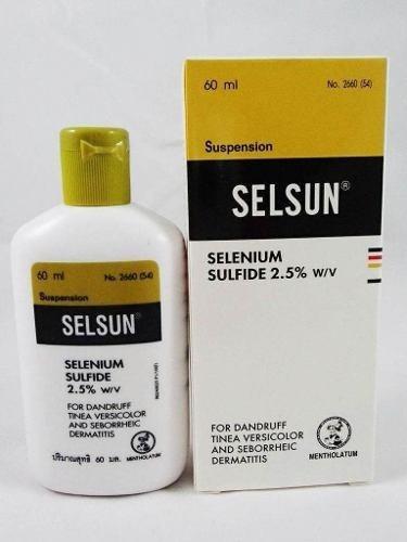 Shampoo Selsun Amarillo 60ml Caspa Seb - mL a $2333