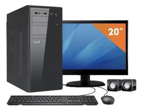 Computador Led 19.5 Intel Dual Core 2.41 4gb Hd 500gb Linux