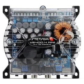 Amplificador Digital Stetsom Vs400.4 Mini 4x100w Rms 2 Ohms