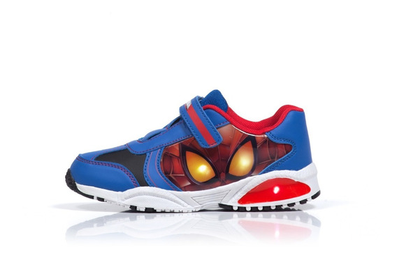 Zapatillas Led Atomik Marvel Deportivo Amazing Sp Luces
