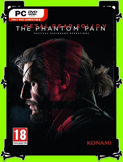 Metal Gear Solid V Phantom Pc - 100% Original (steam Key)