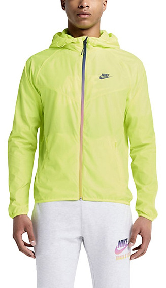 Jaqueta Corta Vento Nike Preta Laçamento Masculina