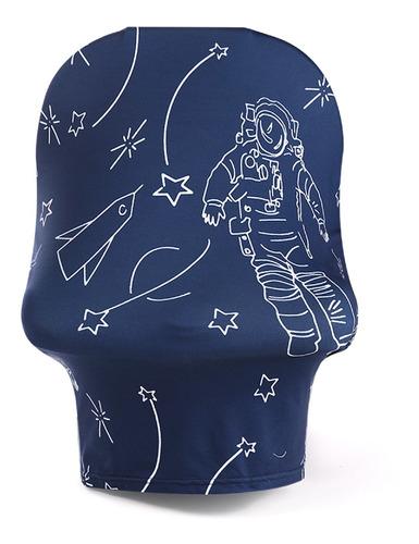 Imagen 1 de 6 de Cochecito Cover_azul Marino Astronauta A