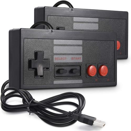 Imagen 1 de 7 de Controlador Usb Clásico Para Juegos Nes,  Pc Usb Nes Control