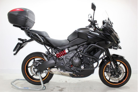 Kawasaki Versys 650 Abs 2016 Preta