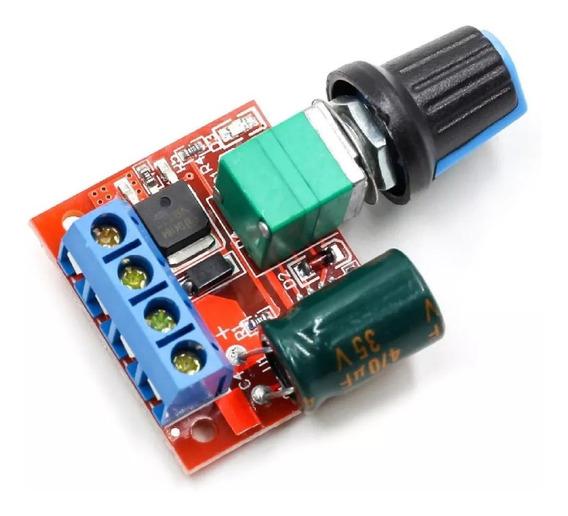Controlador Velocidade Pwm Motor 12v 5a Dc 5-35v