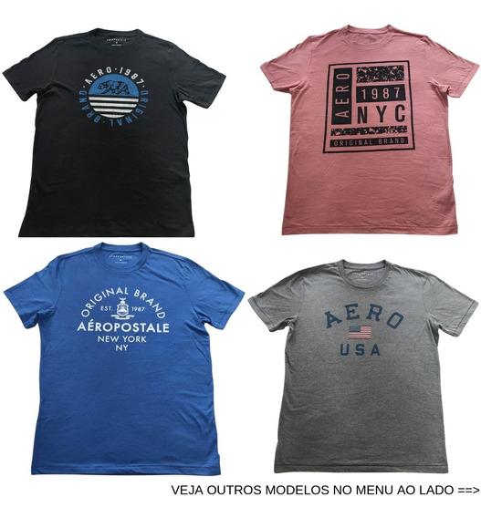 Camisa Camiseta Aeropostale Aero Vários Tamanhos E Modelos