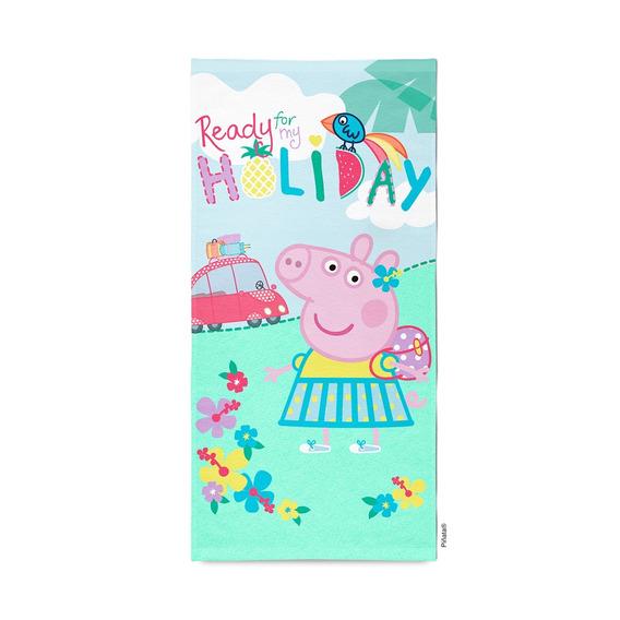 Piñata Toallón Microfibra Peppa Pig Holiday