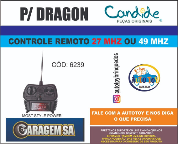 Peças Dragon 6239 - Garagem Sa - Controle 27mhz Ou 49mhz