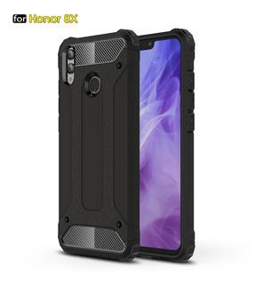 Capa Anti Impacto Huawei Honor 8x+pelicula Full Cover Vidro