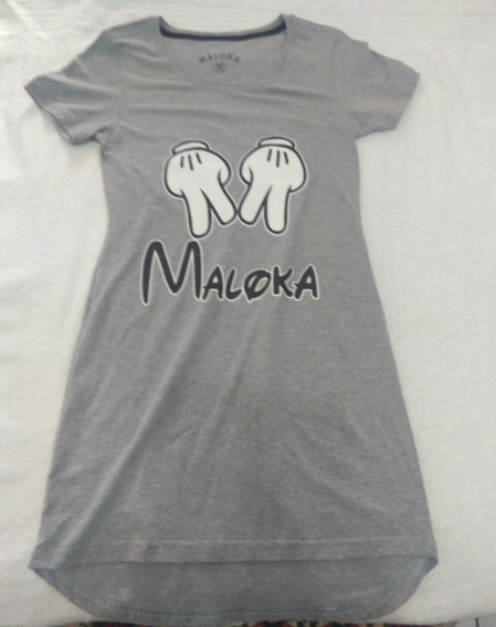Vestido De Malha Maloka