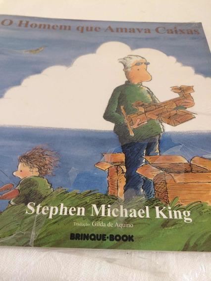 O Homem Que Amava Caixas Ed. Brinque Book