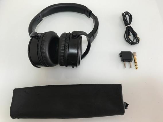 Fone Audio-technica Ath-anc29 Com Cancelamento De Ruído
