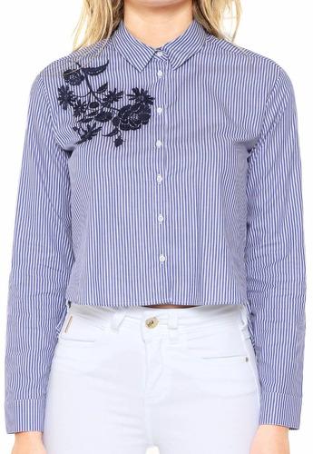 9c3655658 Camisa Colcci De Seda Feminina - Calçados, Roupas e Bolsas no ...