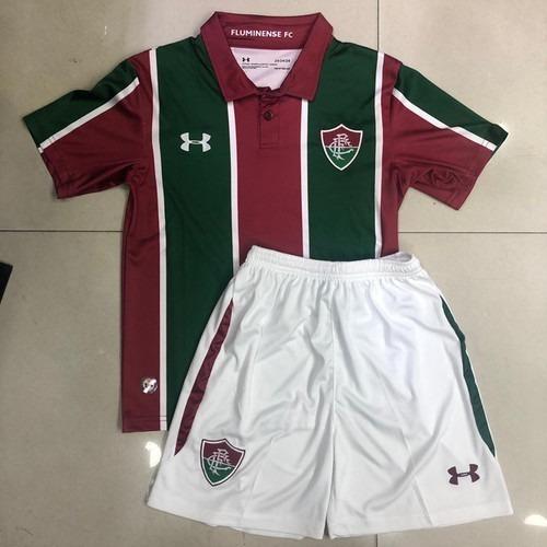 Conjunto Infantil Camiseta + Shorts Fluminense 19/19