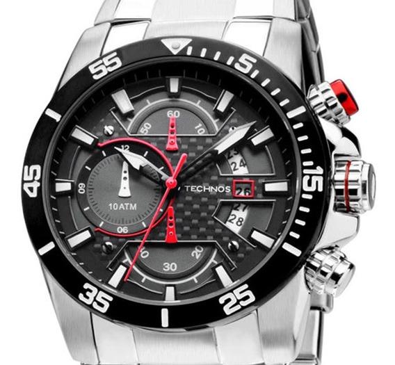 Relógio Masculino Technos Analógico Esportivo Os10er/1r + Nf