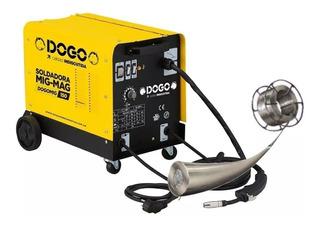 Soldadora Dogo Mig 150a Monofasica + Alambre Flux 0,8 1kg