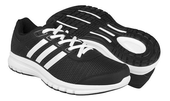 Tenis Para Correr adidas Textil Negro Con Blanco Ba8107
