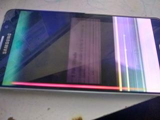 Telefone Samsung Galaxy Not 5 Com Display Ruim