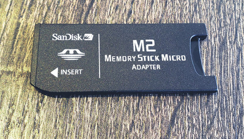 Sandisk Adaptador M2 Para Standard Memory Stick E Ms Pro