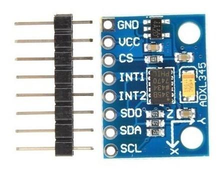 Módulo Acelerômetro 3 Eixos Adxl345 - 0343