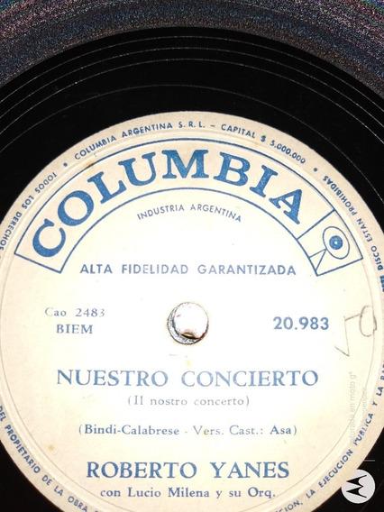 Disco Pasta Roberto Yanes Lucio Milena Columbia C114