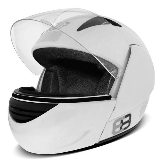 Capacete Ebf Articulado Unissex Moto Robocop Várias Cores