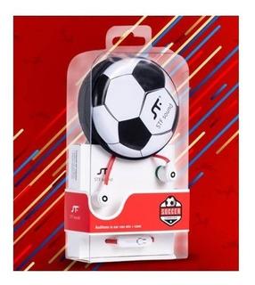 Audifonos Con Microfono + Estuche Stf Futbol