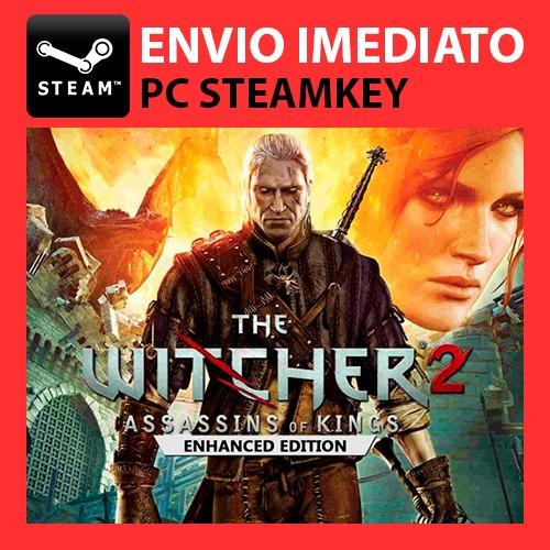 The Witcher 2 - Jogo Digital Steam Key Pc Original