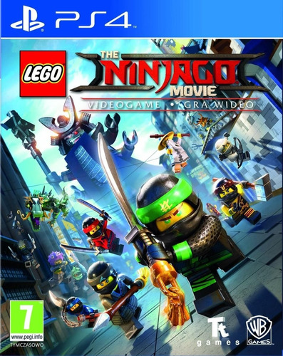 Lego The Ninjago Movie Ps4 Original Fisico Sellado Blu-ray
