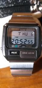 Relogio Seiko S229 5019 Pulsemeter Raro!!