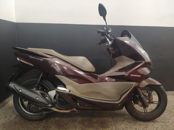 Honda Pcx 150 Dlx 2017 Marrom