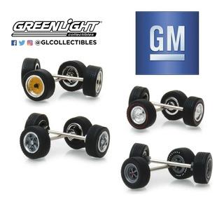 Juego De Rines Greenlight: Gm O Ford Escala 1/64