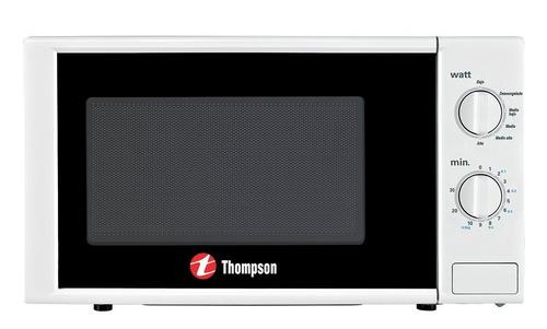 Microondas Thompson James Th 20r Rotativo Blanco 20 Lts Pcm
