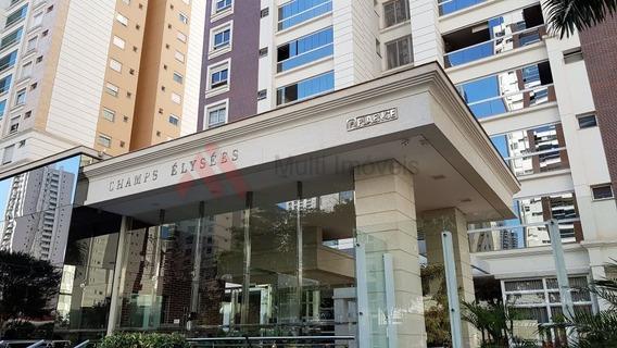 Lindo Apartamento Com 3 Suítes E Vista Para A Praça Pé Vermelho, Com 3 Vagas No Champs Élysées - Mi816