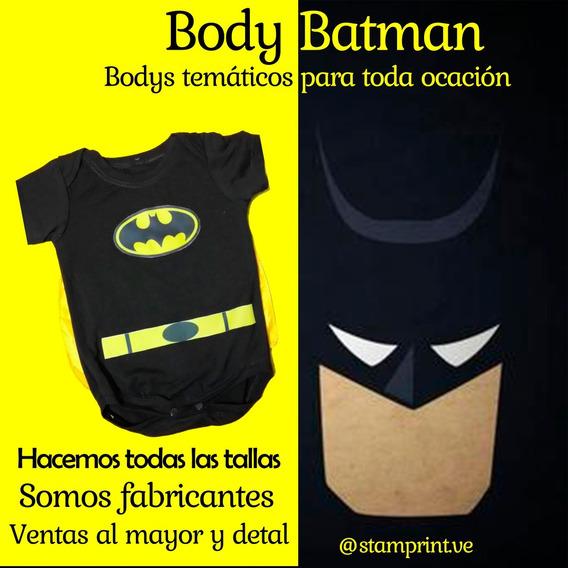 Body De Bebé, Ropa Infantil, Temáticos, Superhéroes